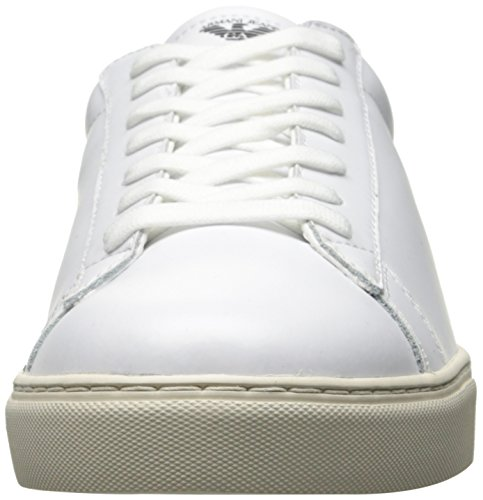 Signature Nero Jeans Low White Top Sneaker Armani Uomo wqBH5CC