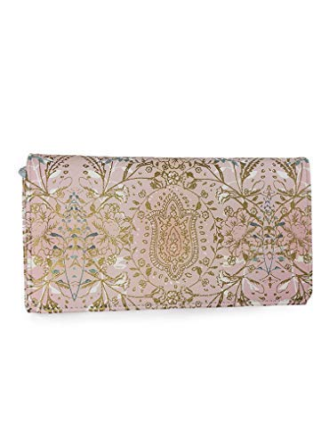 Papaya Women's Art Accessories Trifold Wallet - Lotus Garden