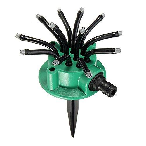 QHGC Yard Sprinkler,Lawn Sprinkler Garden Hose Sprinklers,Adjustable Sprinkler Head,360° Injection -