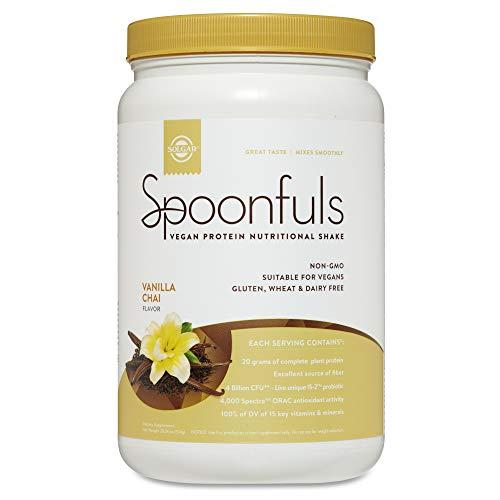 Spoonfuls Vanilla Chai Solgar 20 oz Powder