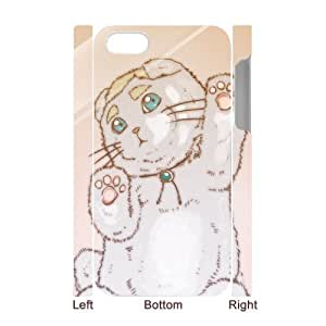 C-Y-F- Cute Cats Phone 3D Case For Iphone 4/4s [Pattern-4]