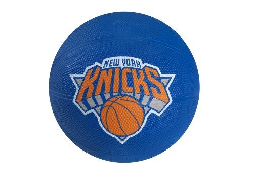 fan products of Spalding NBA New York Knicks Mini Rubber Basketball