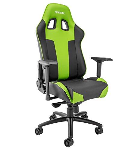 Spieltek Bandit XL Gaming Chair (Green) Spieltek