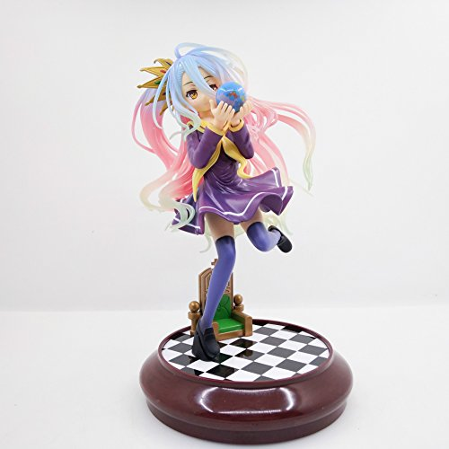 Yotsunoha Heroine 20cm Anime No Game No Life Shiro Game Of Life Painted Second Generation 1/7 Scale Pvc Action Figure Mode