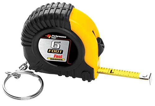 - Performance Tool W5006 6' Tape Measure in Display 6' Tape Measure in Display
