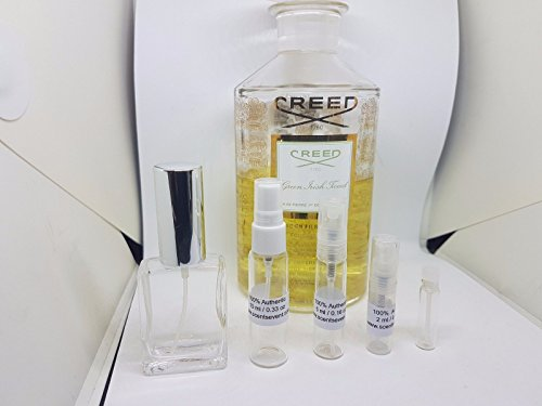 Creed Green Irish Tweed EDP 2 ml , 5 ml , 10 ml & 15 ml Mini Travel Size Spray Authentic (5 ml / 0.16 oz)