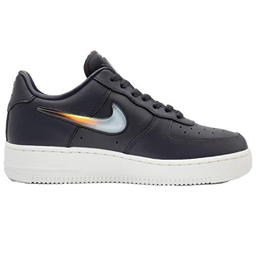 Nike Women's Air Force 1 '07 SE PRM Oil Grey/Crimson/Obsidian AH6827-004 (Size: 8.5)