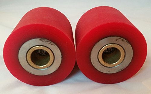 Nordic Fitness Ski Machines Set of 2 Clutch DRIVE ROLLERS compatible with NordicTrack Skier