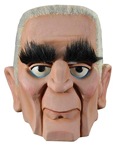 (Trick or Treat Studios Men's Mad Monster Party-Baron Von Frankenstein Mask, Multi, One)