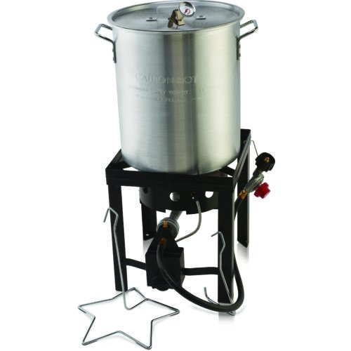 Outdoor Backyard Gourmet Pro™ 30-qt. Propane Turkey Deep Fryer Kit