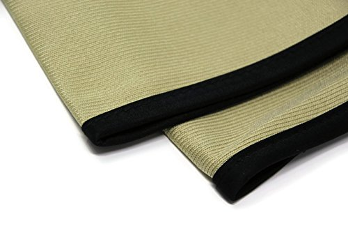 (2 Towels/Package) Sarge's Car Care .50 CAL GLASS CLEANING TOWELS - Silk Bound Premium Microfiber Towel Provides The Cleanest, Streak & Lint-free Finish - 2 LG Glass Towels (16