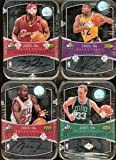 2005 06 Upper Deck SP Signature Series Basketball Hobby Tin (One autograph per tin) - Possible autographs of Michael Jordan , Lebron James , and more!