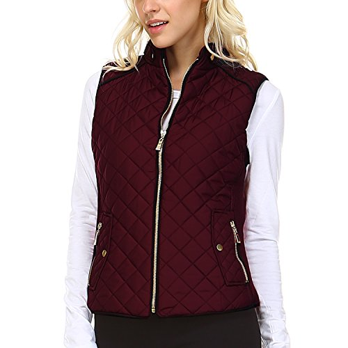 Quilted Puffer Vest - 3