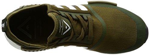 Scarpe Da Ginnastica Adidas Mens Wm Nmd Trail Pk Verde (olitra / Ftwbla / Ftwbla)