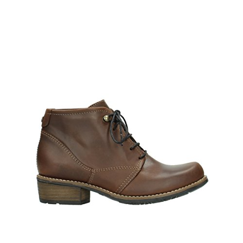 6250 50300 Rotolo Wolky Oliato Pantofole Marrone Diapositive Seamy Pelle R4fCxwqpvn
