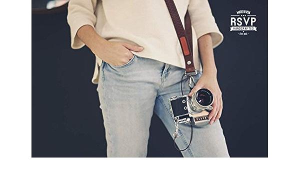 Leather Custom Camera Shoulder Sling Strap