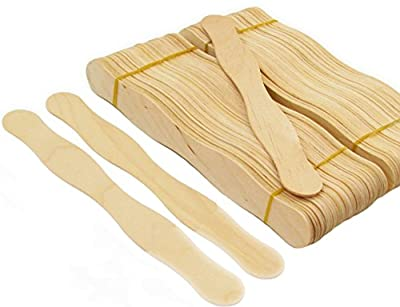 "210pcs Wavy Fan Jumbo 8"" Craft Sticks Mountain Top Trade (210 Sticks Included)"