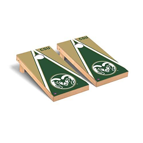 Colorado State University CSU Rams Cornhole Game Set Triangle Wooden