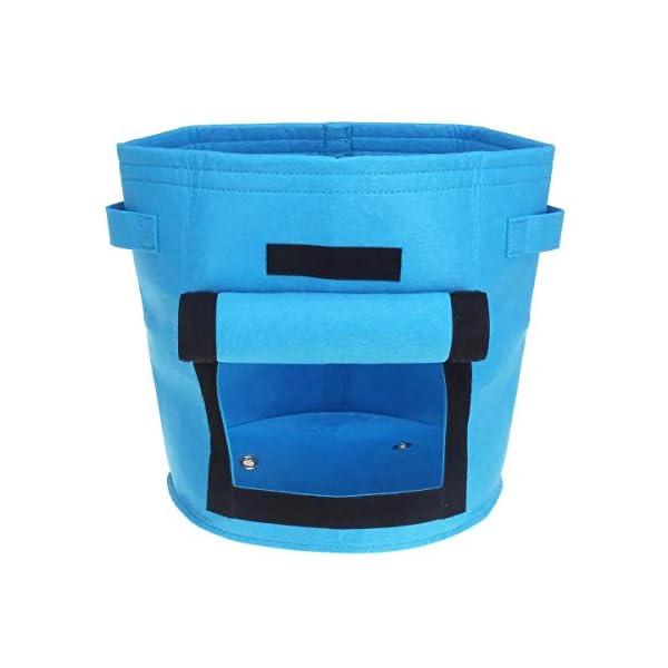 YuYzHanG Borse per Piante Piantare Grow Box W/Finestrino Laterale di Patate Coltivazione Casalinga Orto Piantare Bag… 1 spesavip