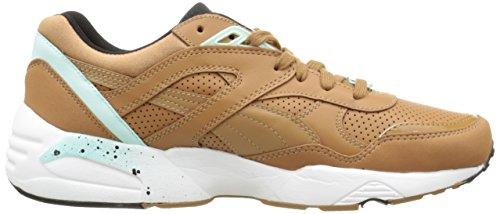 Puma R698 359287 - Zapatillas de Deporte Hombre Multicolor (Beige/Brown/Aqua)