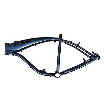 Amazon.com : CDHPOWER Reinforced Motorized Gas Bicycle Frame w/2.4L ...