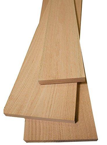 "Red Oak Lumber 3/4"" x 2"" x 12"" - 4 Pack"