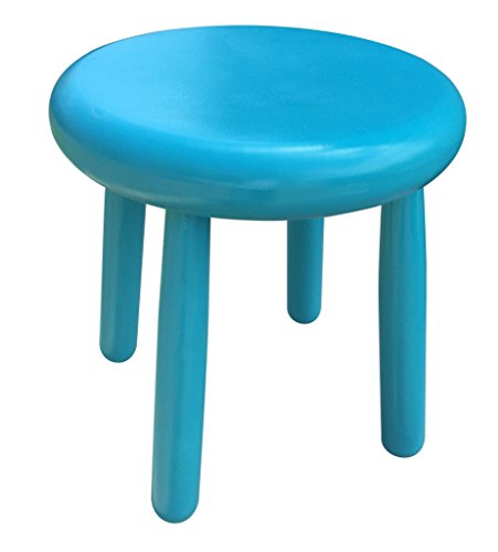 Small Wood Four Legged Stool, Modern Plant Stand, Choose Finish by Candlewood Furniture, Wooden, Tea Table, Kids Chair, Decorative by Candlewood Furniture (Image #3)