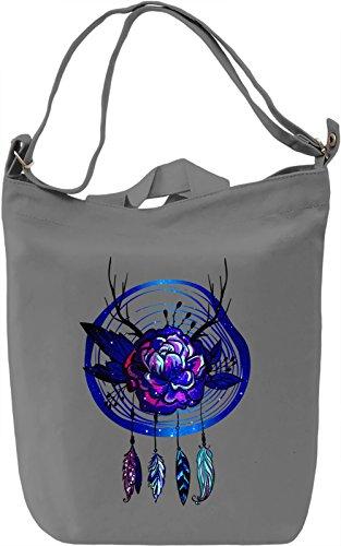 Galaxy Dream Catcher Borsa Giornaliera Canvas Canvas Day Bag| 100% Premium Cotton Canvas| DTG Printing|
