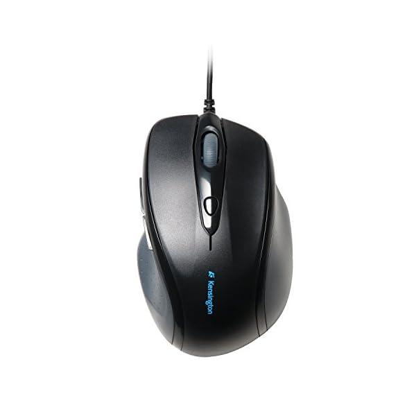 Kensington Pro Fit Full-Size Mouse USB (K72369US),Black