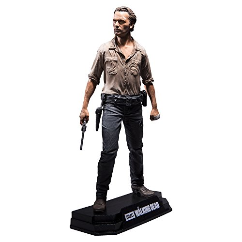 "McFarlane Toys The Walking Dead TV Rick Grimes 7"" Collectible Action Figure"