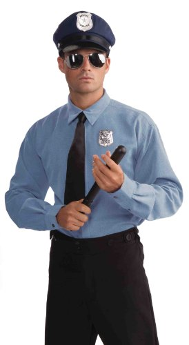Forum Novelties Police Officer Costume Accessory Kit, Black, One (Men Cop Costumes)