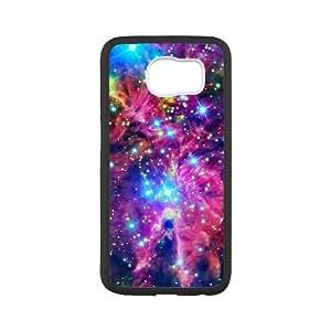 Samsung Galaxy S6 Cell Phone Case White Space Nebula oegq