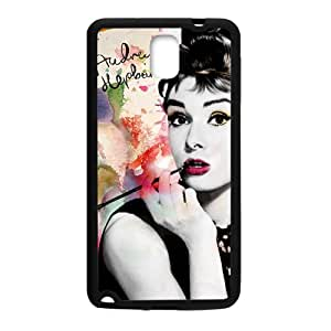 Audrey Hepburn Brand New And Custom Hard Case Cover Protector For Samsung Galaxy Note3