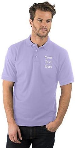 Bruntwood Bordado/Personalizado Prima Polo Camisa - Embroidered/Personalised Premium Polo Shirt - Hombre y Mujer - 220GSM - Poliéster/Algodón (Lila, XXXL): Amazon.es: Ropa y accesorios