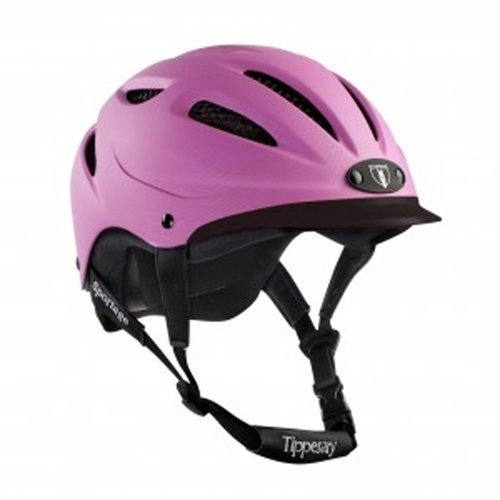 Tipperary Sportage 8500 Riding Helmet MD Pink