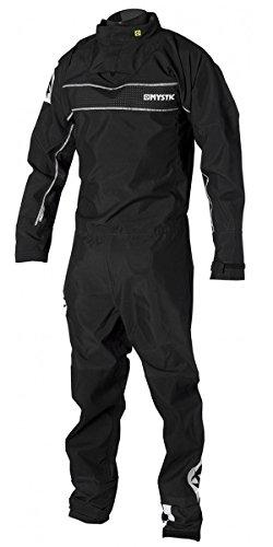 Back Zip Drysuit - Mystic Force Back Zip Drysuit BLACK 140000 Free Underfleece Sizes- - ExtraLarge