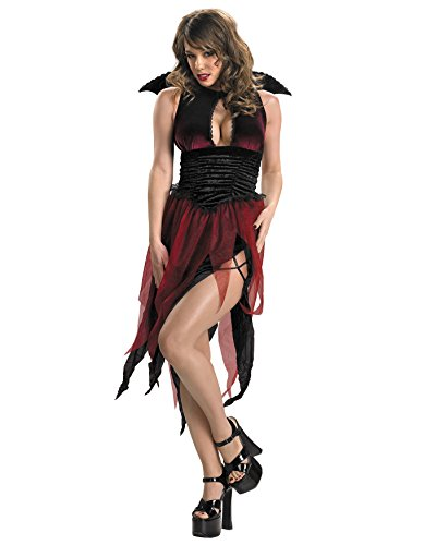Veinia Classic Witch Vampiress Sorceress Sexy Costume Goth Gothic Teen Size Sizes: One Size ()