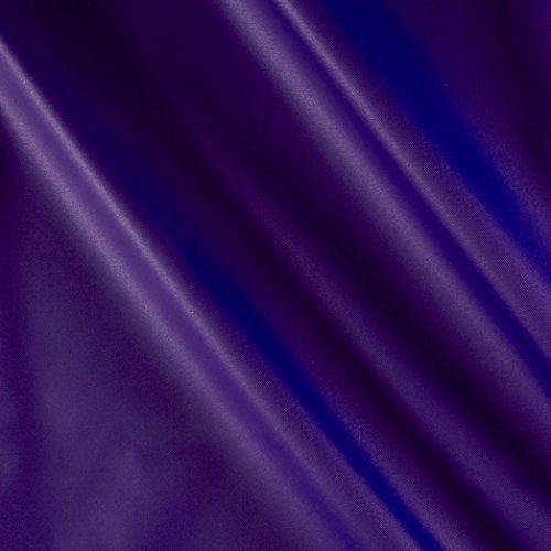 Carr Textile Nylon Pack Cloth Purple Fabric by The Yard