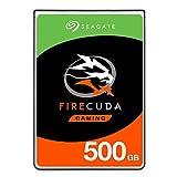 Seagate FireCuda 500GB Solid State Hybrid Drive Performance SSHD - 2.5 Inch SATA 6Gb/s Flash...