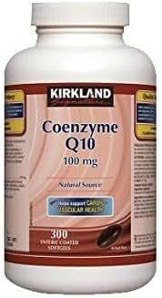 Kirkland Coenzyme Q10, 100mg, 300 enteric coated softgels