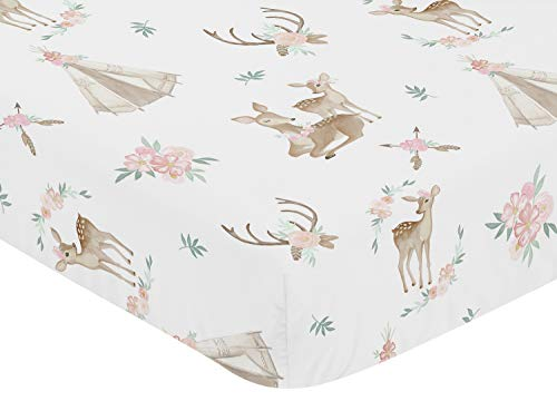 Buy fitted crib sheets woodland