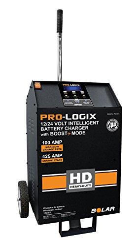 Clore Automotive SOLAR PL5100 PRO-LOGIX 12/24V HD Wheel Charger; 100/60/40/15/5/425A