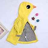 Toddler Baby Boy Girl Duck Raincoat Cute Cartoon