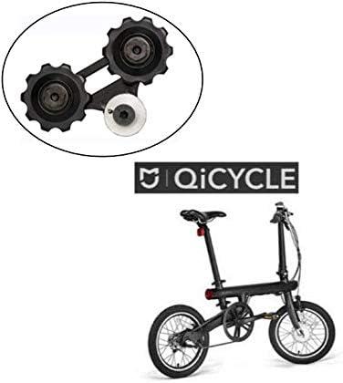 SPEDWHEL - Rueda de Repuesto para Rueda Trasera de Bicicleta eléctrica Xiaomi QiCYCLE EF1: Amazon.es: Deportes y aire libre