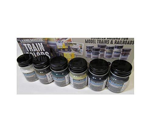 New Rust-LEUM TESTORS 6 Colors Train Railroad Track Master Acrylic Paint Train Set Quick Arrive