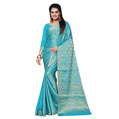 arars soft crepe mysore silk saree kanjivaram kanchipuram pattu style wedding collection colour blue -