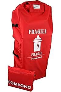COMPONO Stroller Travel Bag for Airplane - Single or Umbrella Stroller Gate Check Bag