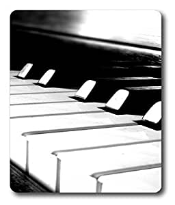 best mouse mat Piano Black And White Cool PC Custom Mouse Pads / Mouse Mats Case Cover