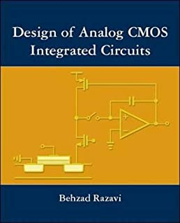 design of analog cmos integrated circuit amazon co uk razavidesign of analog cmos integrated circuit hardcover \u2013 1 oct 2003
