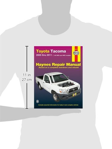 Toyota tacoma 2005 thru 2011 all 2wd and 4wd models haynes toyota tacoma 2005 thru 2011 all 2wd and 4wd models haynes repair manual editors of haynes manuals 0038345920776 amazon books fandeluxe Gallery